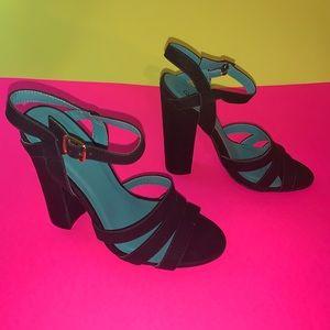 Ankle strap heels